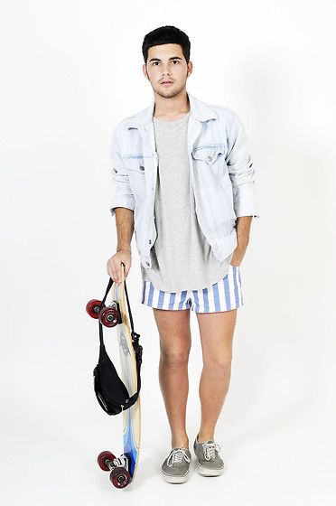 SHORTS AND COOL (by Gerard Valldeperas) http://lookbook.nu/look/3676099-SHORTS-AND-COOL