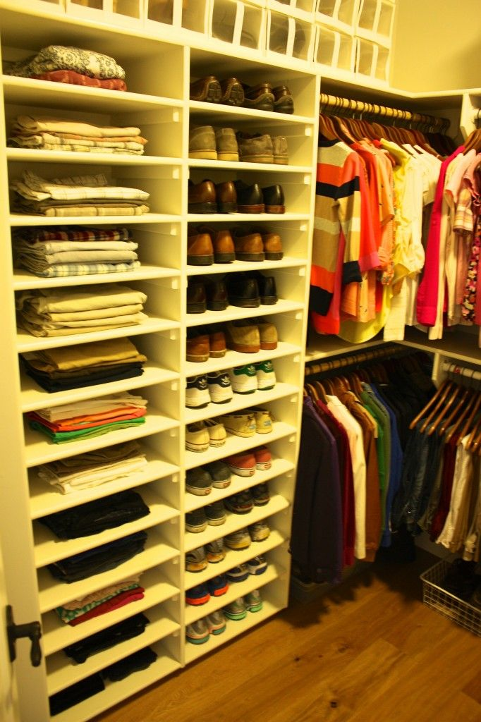 Master Closet Organization Organization Storage Pinterest