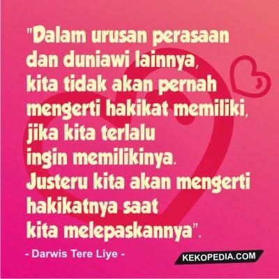 Gambar Kata-Kata Cinta Darwis Tere Liye | DP BBM CINTA ...