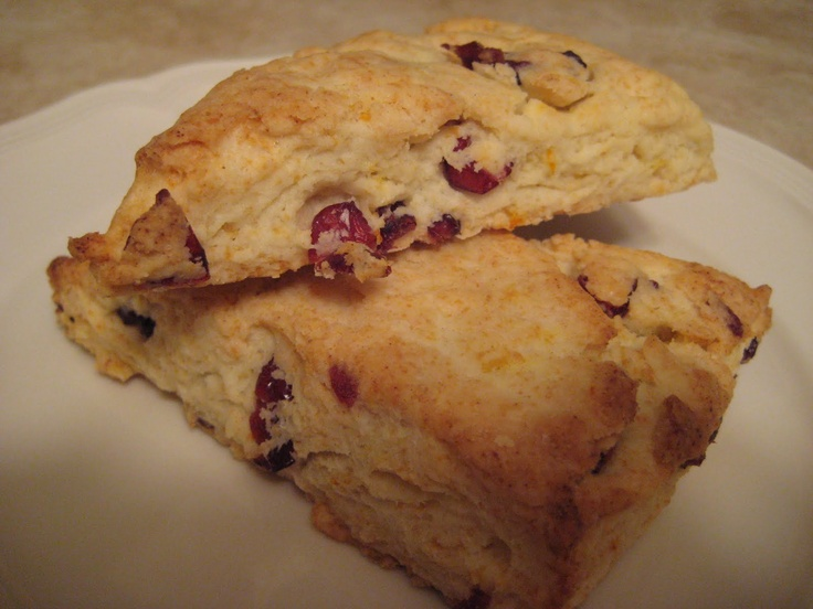 Orange cranberry scones | Cooking-Sweet treats | Pinterest