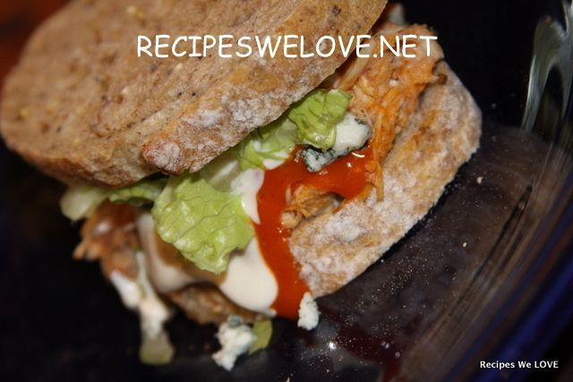 Slow Cooker Buffalo Chicken Sandwiches | Recipes - Slow Cooker | Pint ...