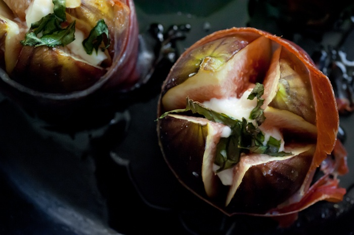 figs stuffed with goat cheese | Learning to Cook | Pinterest