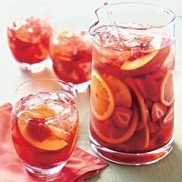 Strawberry and Peach Sangria by Bon Appétit
