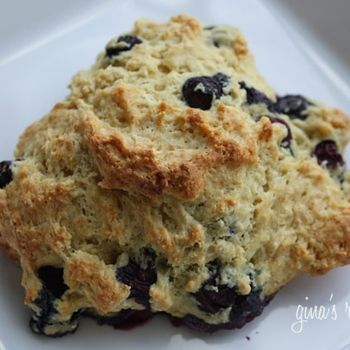 Low-fat blueberry scones | Food | Pinterest