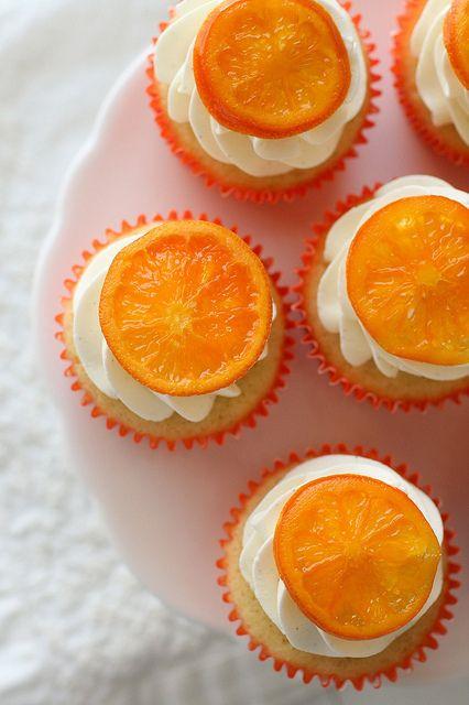 orange vanilla bean cupcakes | Cupcakes!! Everything Cupcake! ....S…