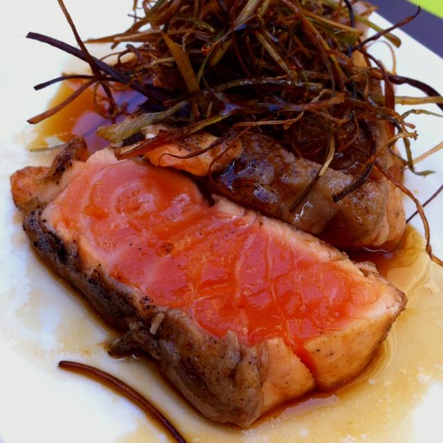 salmon steak @ moysushi | Amazing looking food | Pinterest