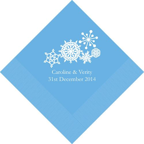personalized winter wedding napkins http thingsfestive