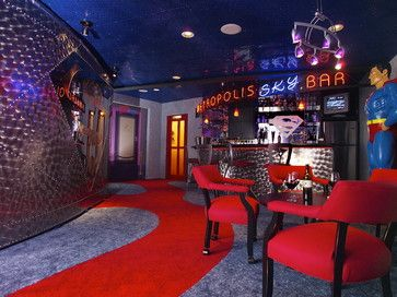 superhero themed man cave man caves pinterest