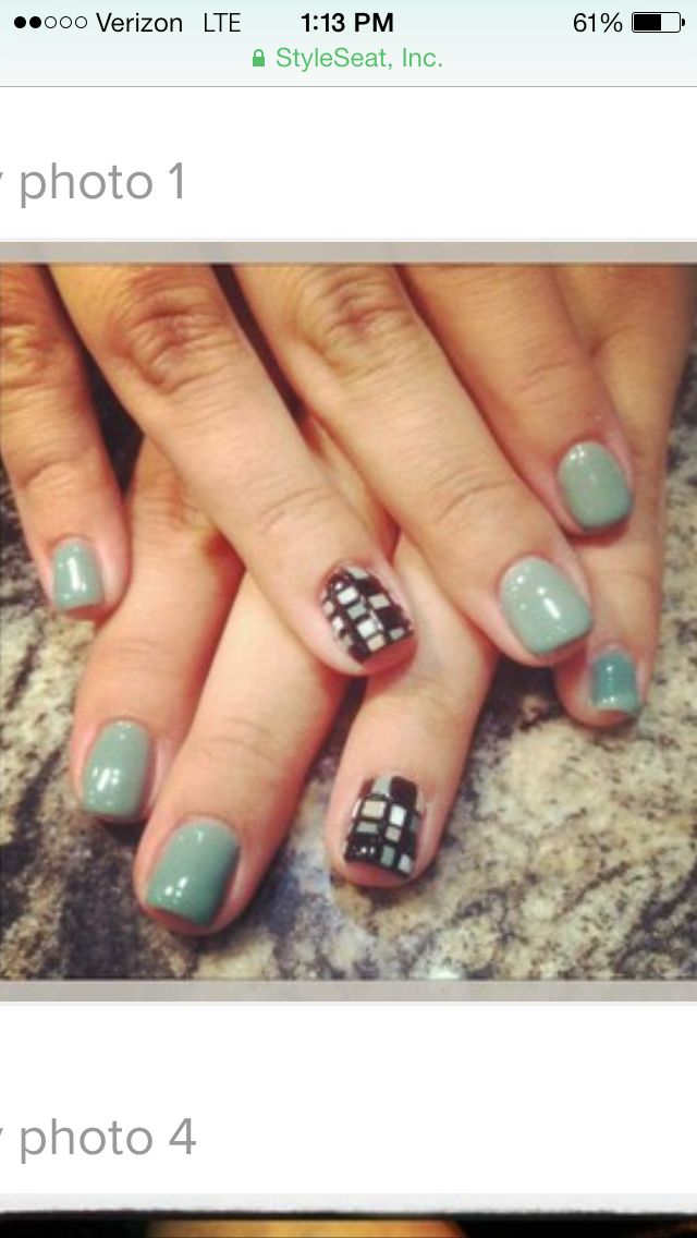 Modern nail art by Kendra Johnston | Nail Art by Kendra Johnston | Pi ...