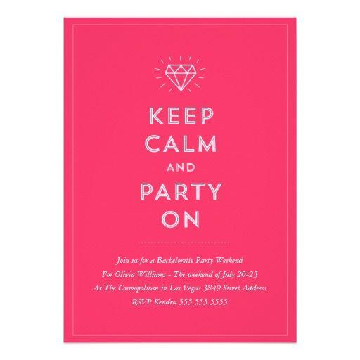 explore bachelorette party invitations