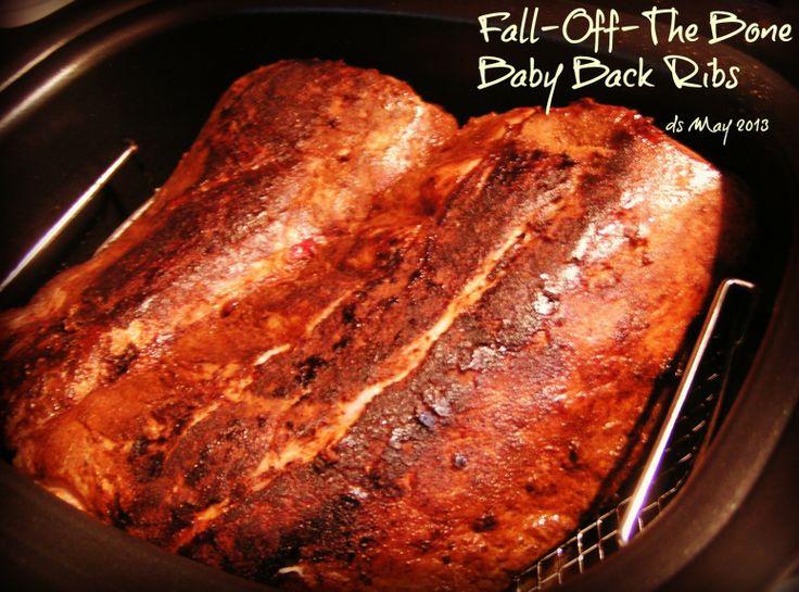 Yum... I'd Pinch That!   Fall-Off-The Bone Baby Back Ribs, Rub