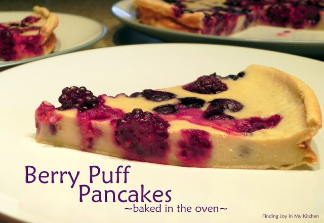 Finding Joy in My Kitchen: Berry Puff Pancake