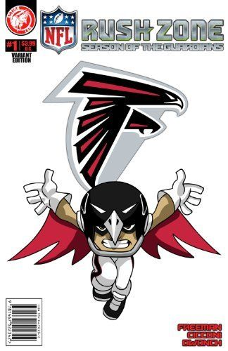 Nfl rush zone season of the guardians 1 atlanta falcons cover by