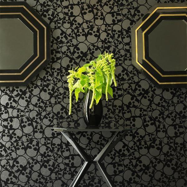 skull wallpaper home and decor wishes pinterest