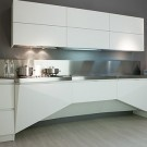 Style Kitchen Simple Futuristic Kitchen Designs