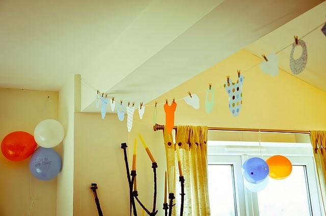 Diy Banner For Baby Shower Baby Shower Ideas Pinterest