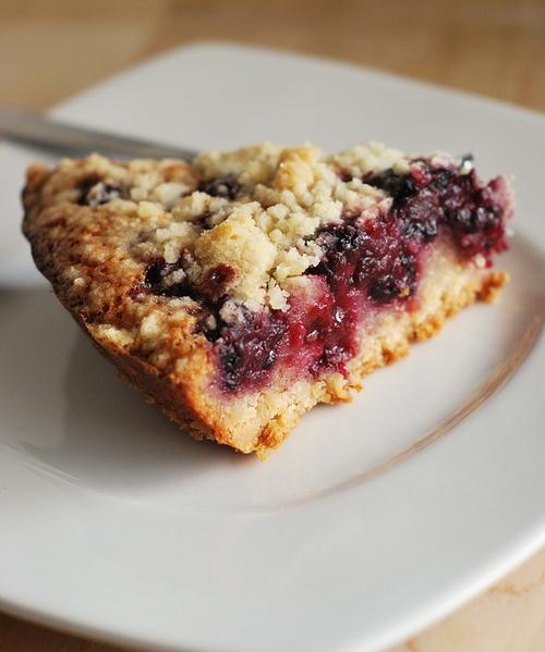Blackberry Pie Bars! -Blueberry/Strawberry/Rhubarb versions? -Veganize ...
