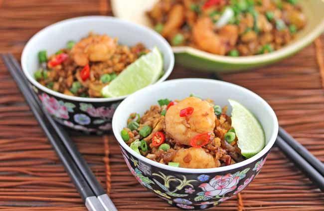 """Indonesian Shrimp Fried Rice (nasi goreng)..""""Jeanette's Healthy Livi..."""