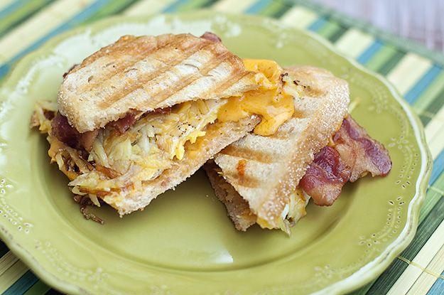 breakfast panini yummy!   Panini   Pinterest
