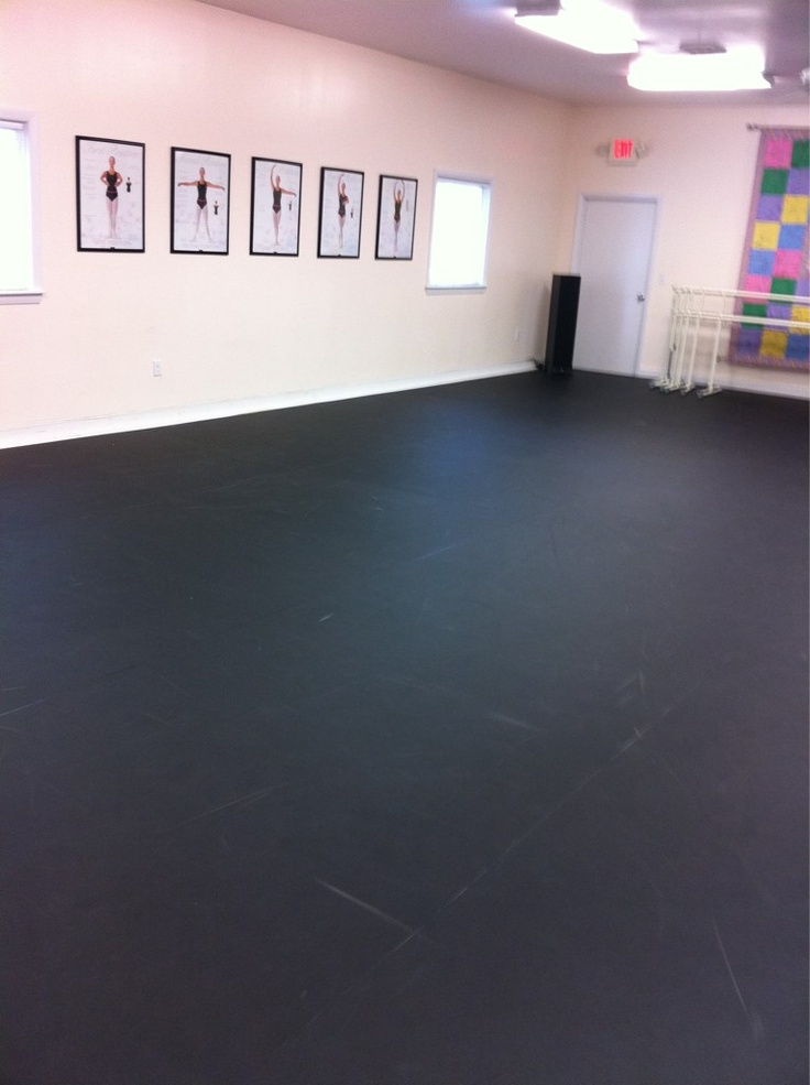Black Marley Floor Dance Studio Pinterest