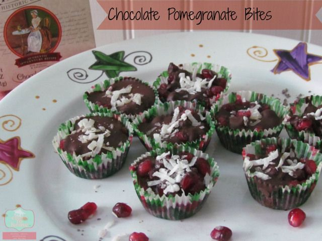 chocolate pomegranate bites | Recipes on the List to Make...SOON! | P ...