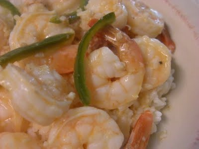 Spicy Garlic Shrimp with Coconut Rice | Seafood | Pinterest