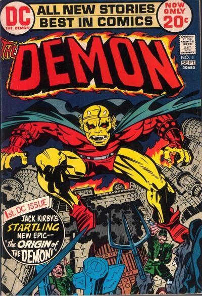 Demon  1 Jack Kirby CoverJack Kirby Cover