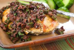 ... Kitchen®: Sauteed Chicken Breasts Recipe with Olive and Caper Sauce