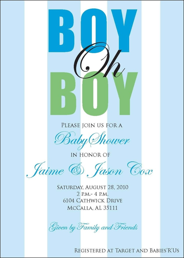 blue and green striped boy baby shower by lilypadboutiquestore