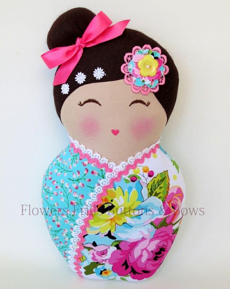 """Изображение кокэси куклы 'Мисс Аякой """""""