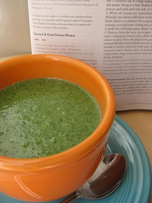 Spinach and Cashew Cheese Bisque | Healthy Meals | Pinterest