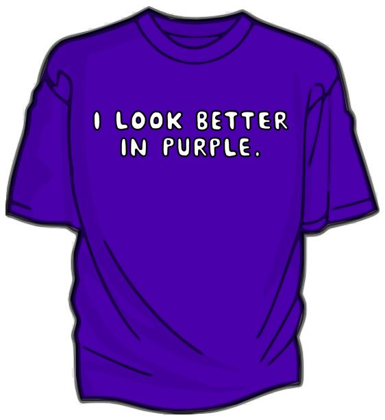 i love purple