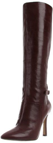 Nine West Women's Justright Boot Leather Manmade sole Shaft measures