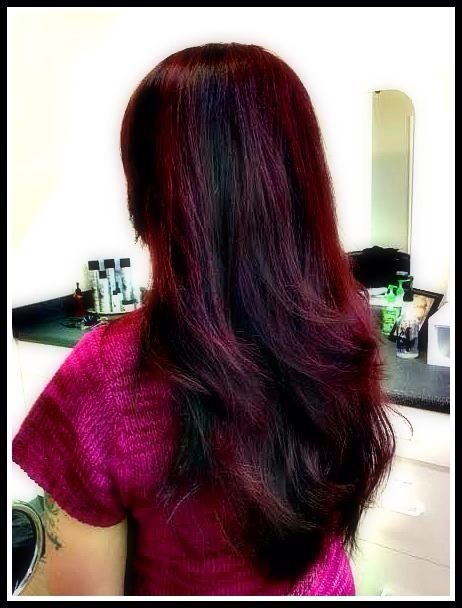 Back view - Cherry Cola Highlights