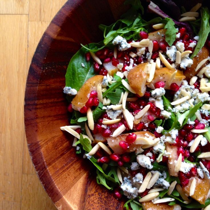 Autumn Salad With Pears And Gorgonzola Recipes — Dishmaps