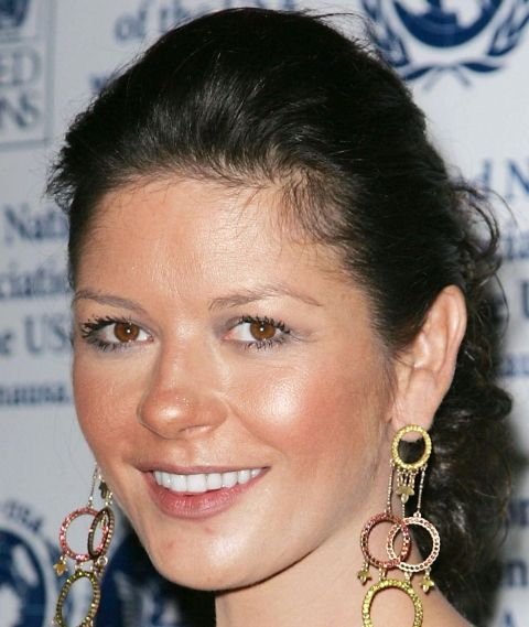 Catherine Zeta Jones acne. More celebrity acne pictures!