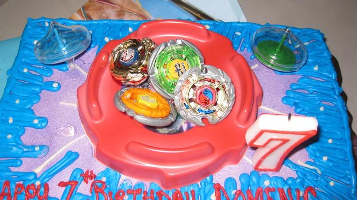 Beyblade Cake Ideas