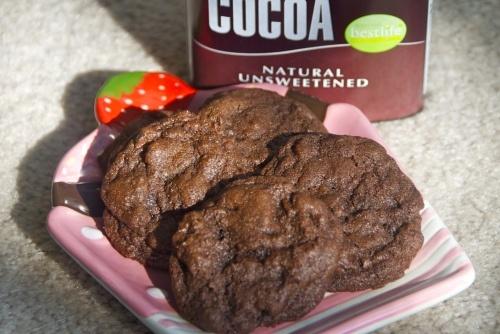 Double Chocolate Cookies | fun food ideas | Pinterest