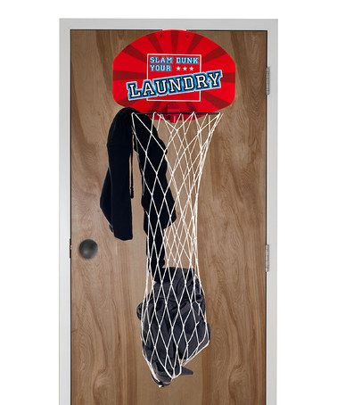 Basketball over the door laundry hamper - Basketball hoop laundry hamper ...