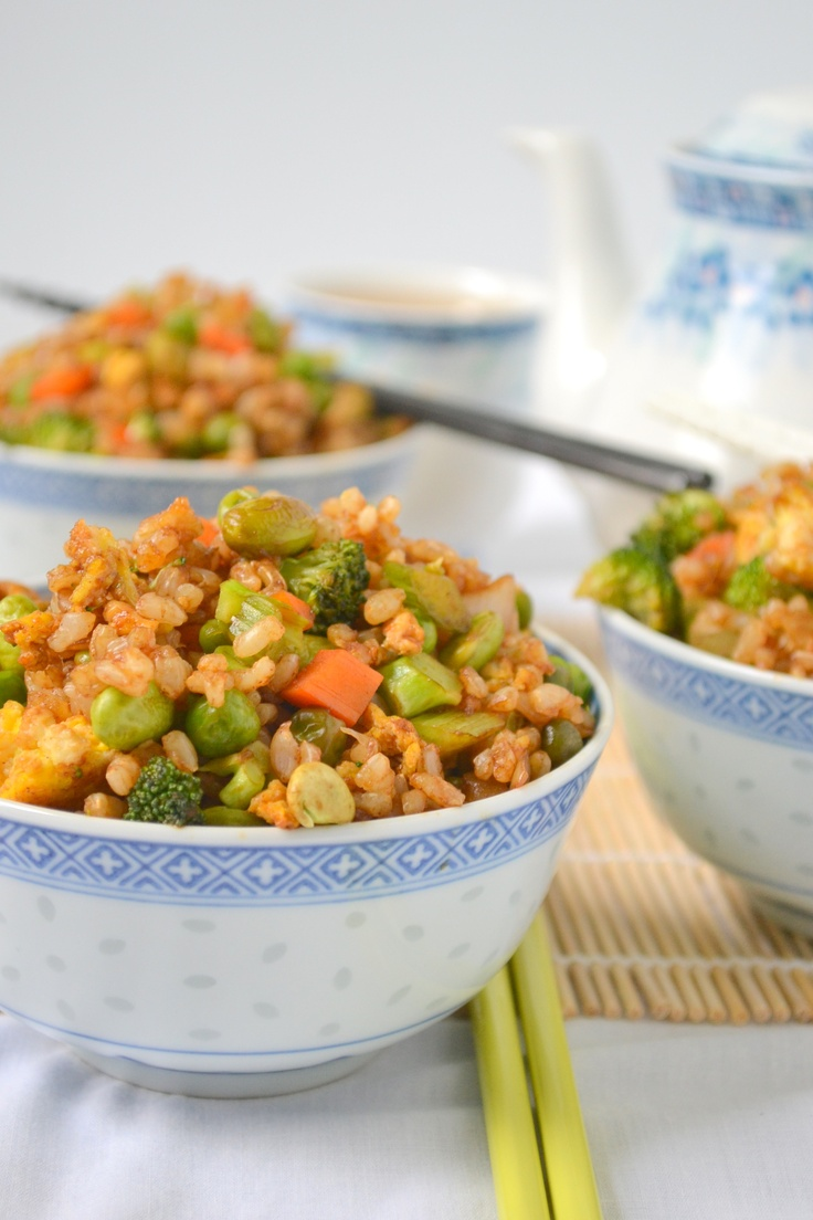Grain Brown Rice - The recipe actually comes up as garlic fried rice ...