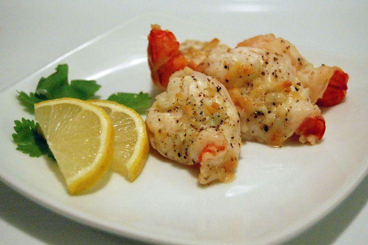 Broiled Lemon Garlic Shrimp | Seafood | Pinterest