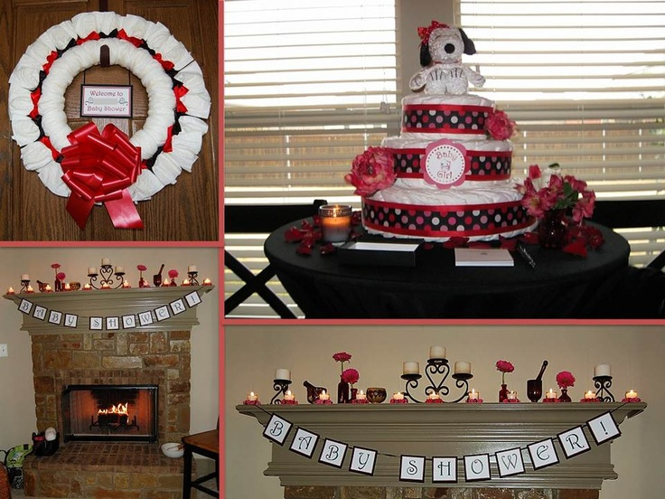 snoopy baby shower baby showers pinterest