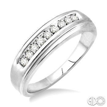 Sparkle To Your Wedding Day With This Exquisite Men's Diamond Ring ...