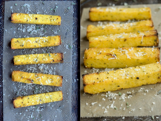 herbed polenta fries! | Favorite Recipes | Pinterest