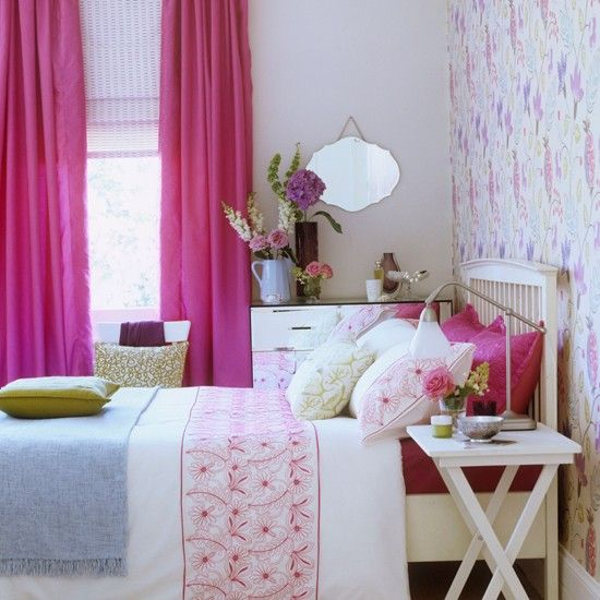 Pink And Blue Country Bedroom Dreamhome And Interiors