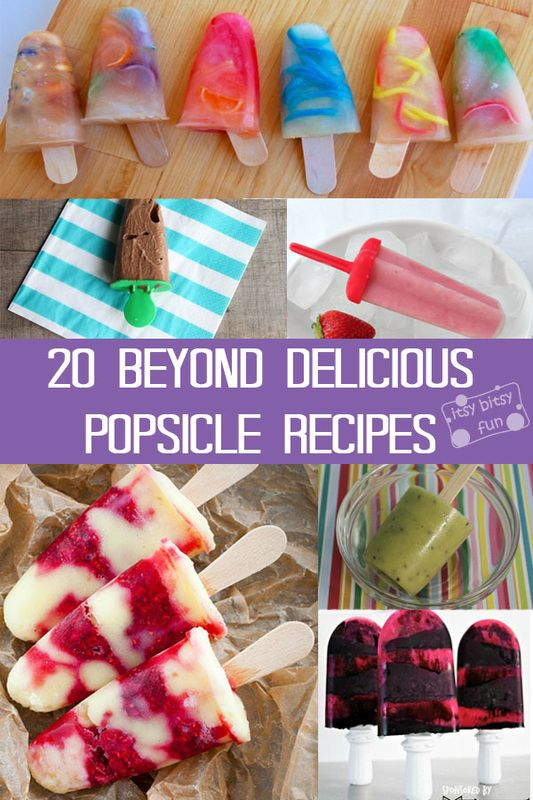20 Beyond Delicious Popsicle Recipes