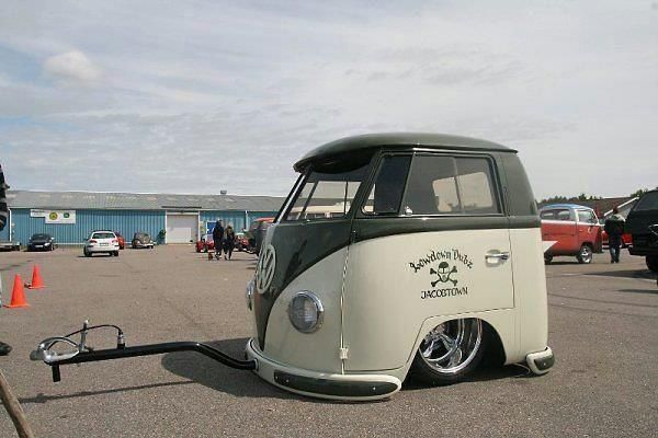 VW Mini-Kombi... the best original Smart Car