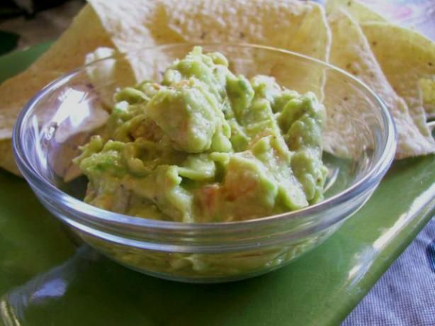 Easy and Authentic Mexican Guacamole / Avocado Dip from Food.com: A ...