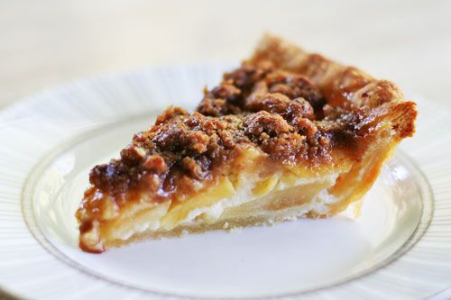 Sour Cream Apple Pie with Streusel Topping | Recipe