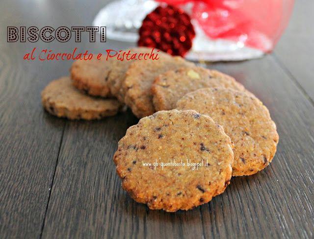Biscotti al cioccolato e pistacchio | Cibo - Food ideas | Pinterest